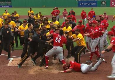Video: Reds OF Yasiel Puig Tries To Fight The Entire Pittsburgh Pirates Roster
