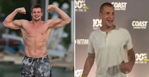 Gronk's Latest Photos Show He Is Serious About His Retirement