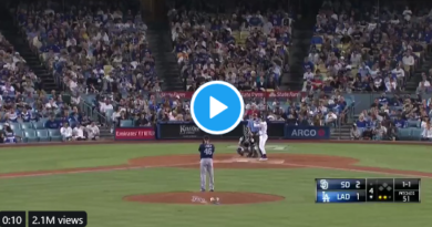 Video: Dodgers And Padres Play Through As 7.1 Magnitude Earthquake Rocks Southern California