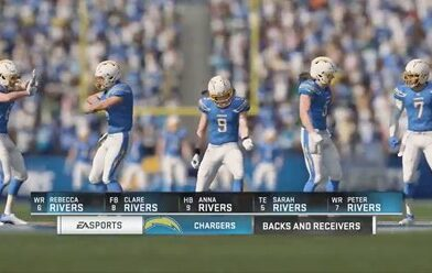 Video: Someone Created A Madden Team With Philip Rivers Entire Family